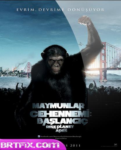 Maymunlar Cehennemi 1 Başlangıç 2011 Türkçe Dublaj İndir
