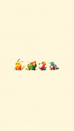 Pokemon Go little pokemons going Iphone hd wallpaper