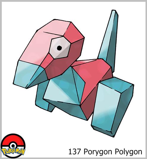 137 Porygon Polygon