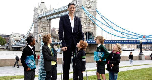 En uzun boylu adam (Sultan Kösen