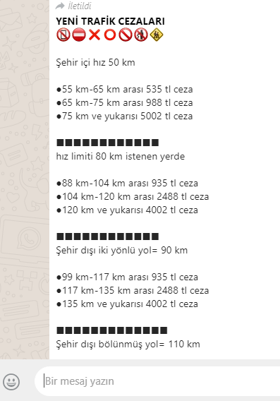 2019 trafik ceza scam
