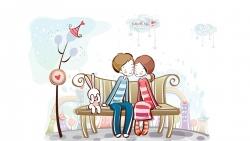 love is cute wallpaper
