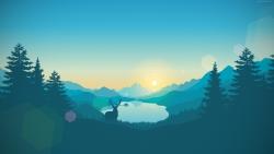 deer mountain forest