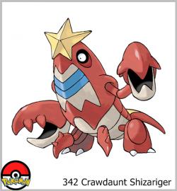 342 Crawdaunt Shizariger