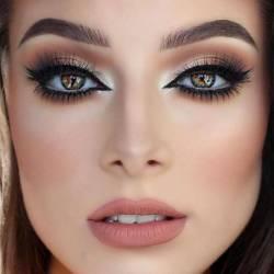 Dusty-Rose-Wedding-Ideas-Bridal-Makeup-17-615x615