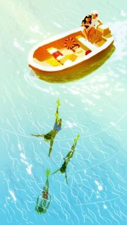 lover in the boat